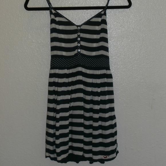 Hollister Dresses & Skirts - Hollister Navy Dress women's dress Striped